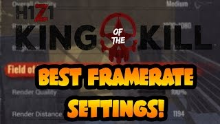 How to get the BEST FRAMERATE Settings in H1Z1 King of The Kill! - H1Z1 Tips & Tricks