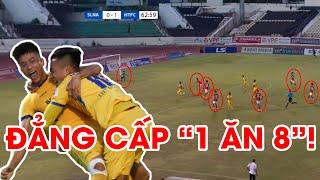 Phan Văn Đức | Pha kiến tạo đẳng cấp khiến 8 cầu thủ Hồng Lĩnh Hà Tĩnh bất lực cản phá | NEXT SPORTS