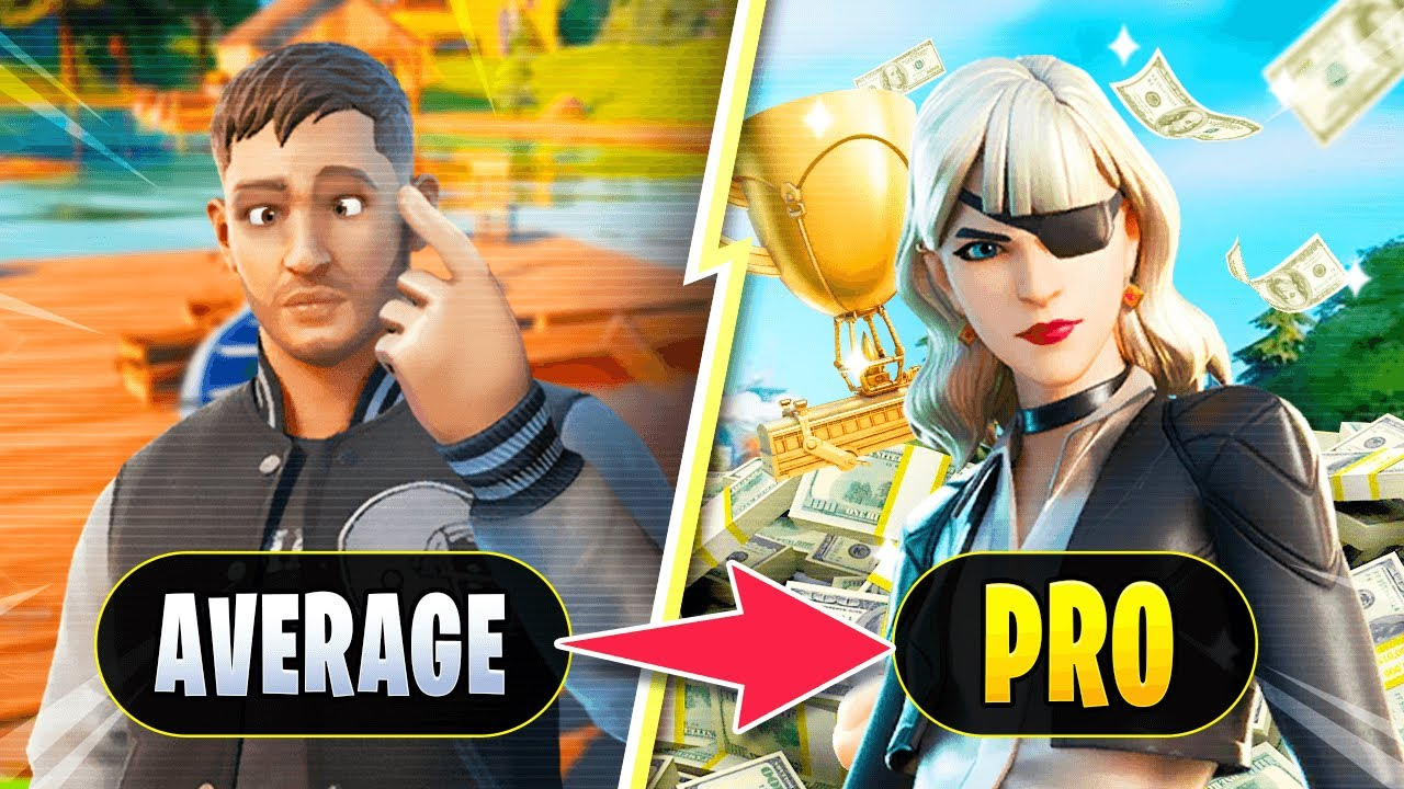 How To Go From Average To PRO REALLY FAST in Fortnite Battle Royale!
