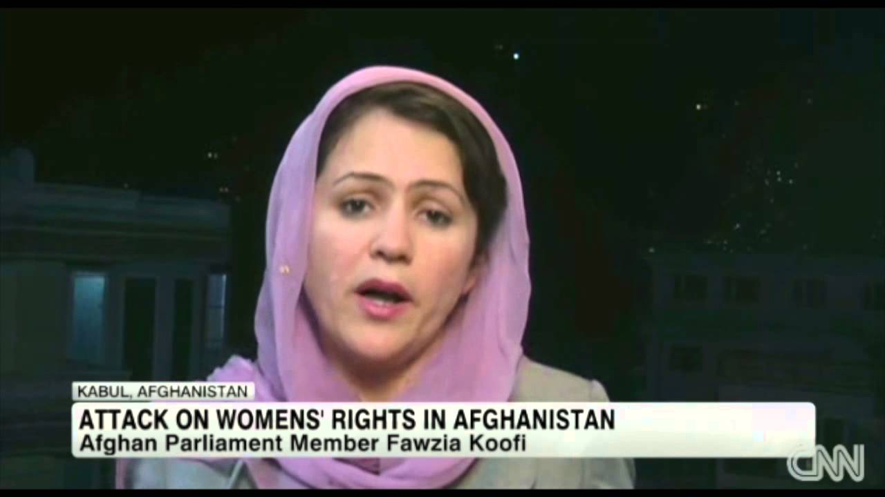 CNN: Fawzia Koofi - YouTube