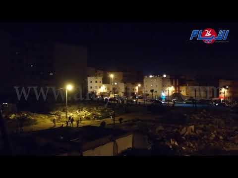 عاجل بالفيديو.. الجماهير تهاجم حي الفردوس بعد مباراة الرجاء امام زاناكو