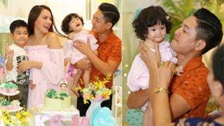 Vợ chồng Hải Băng, Thành Đạt tổ chức sinh nhật 1 tuổi hoành tráng cho con gái cưng