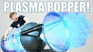 I Made A GIANT Plasma Cannon! (HUGE BLAST!)