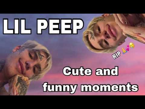 LIL PEEP CUTE AND FUNNY MOMENTS (COMPILATION)