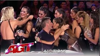Revolution Queens: Argentina Malambo Group Are All About GIRL POWER!| America's Got Talent 2019