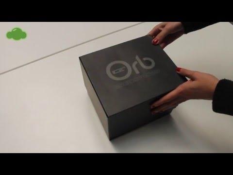 UNBOXING Orb ICE Levitating bluetooth speaker