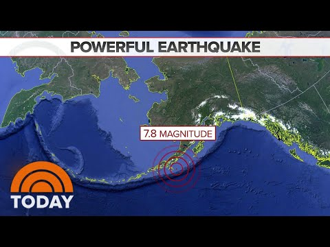 Earthquake In Alaska Triggers Tsunami Warning And Evacuations | TODAY
