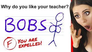 Funniest KID TEST Answers !