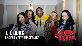 Angela Yee's Lip Service Ft. Lil Durk and Richelle Ryan