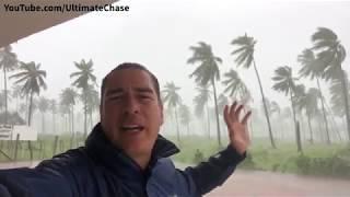 Major Hurricane Willa in Teacapán, Mexico