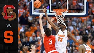 Cornell vs. Syracuse Basketball Highlights (2017)