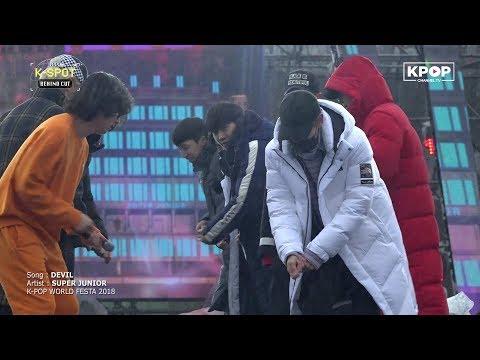 SUPER JUNIOR - DEVIL (Rehearsal @ K-POP World Festa 2018)