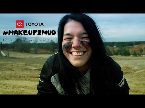 Toyota #Makeup2Mud Tina Carter