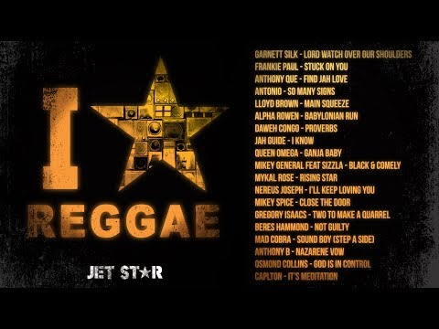 90's Old School Reggae Mix - Beres Hammond, Frankie Paul, Sizzla - I Love Reggae   Jet Star Music