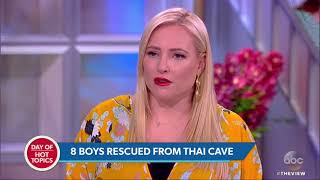 8 Boys Rescued From Cave In Thailand After Going Missing 17 Days Ago   The View