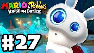 Mario + Rabbids Kingdom Battle - Gameplay Walkthrough Part 27 - World 4! Challenges 1-5!