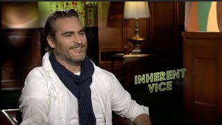 INHERENT VICE interview with Joaquin Phoenix