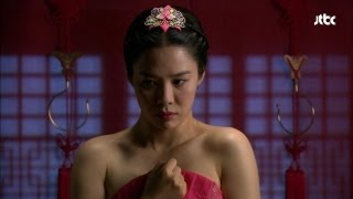 [JTBC]The war of flowers- Yamjun got naked in front of the court lady Kim