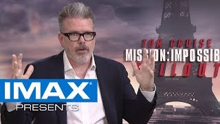 IMAX® Presents | Mission: Impossible - Fallout Director Christopher McQuarrie