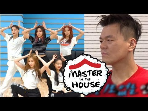 JYP's Checking ITZY's Dalla Dalla Choreography [Master in the House Ep 61]