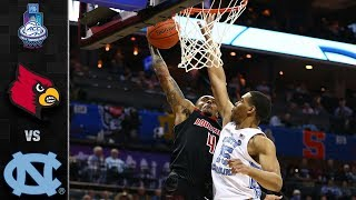 Louisville vs. North Carolina ACC Basketball Tournament Highlights (2019)