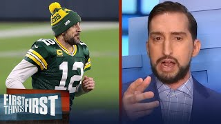 Rodgers needs another ring to confirm he's a Top 5 NFL QB of All Time — Nick | FIRST THINGS FIRST
