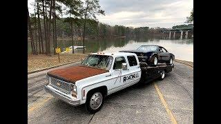 Finnegan' Garage Ep.66: Cummins-Powered Chevy Dually to Single Wheel Axle Swap!