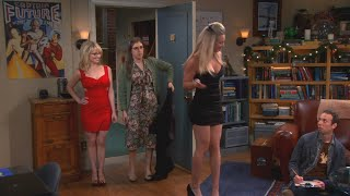 Kaley Cuoco - TBBT S06E11, Girls Night Dresses 1080p (Feat. Melissa Rauch)