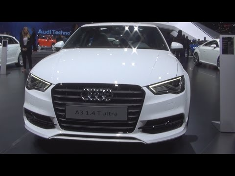 Audi A3 Berline Ambition COD 1.4 TFSI S Tronic 110 kW T Ultra (2016) Exterior and Interior in 3D
