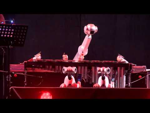 Shimon Robot and Friends Performance in Istanbul
