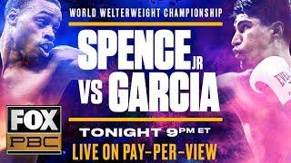 Errol Spence Jr. vs Mikey Garcia Prelims Part II | PBC ON FOX