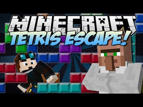 Minecraft   TETRIS ESCAPE! (The Classic Game, But DEADLY!!)   [1.7.2] - Smashpipe Games