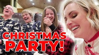 GRIFFITHS CHRISTMAS PARTY 2018! Ellie And Jared Christmas Special!