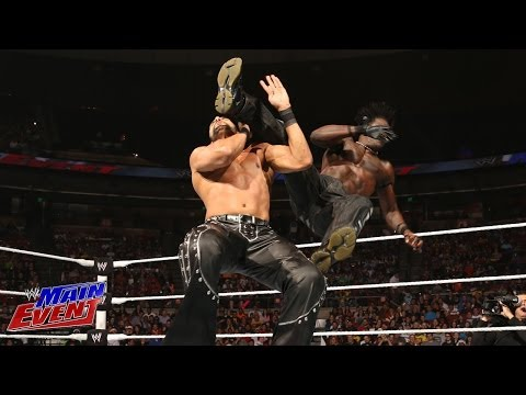 R-Truth & Xavier Woods Vs. Jinder Mahal & Drew McIntyre: WWE Main Event, Dec. 18, 2013 - Smashpipe Sports