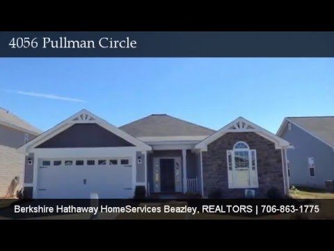 4056 Pullman Circle, Augusta GA New Home | Hayne's Station