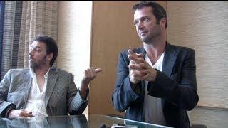 James Purefoy & Michael J Bassett - Full Interview from SDCC 2012