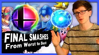Ranking the Final Smashes - Scott The Woz