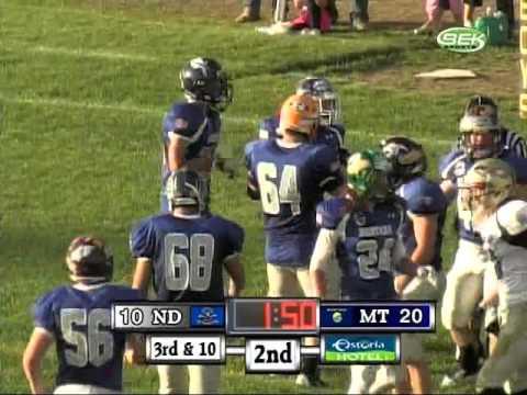"""North Dakota vs Montana FB Badlands Bowl""  Jordan Hassler"