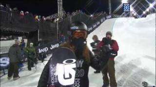 Shaun White ► 100 POINTS MIX (all 3 runs + interview on X Games 2012)