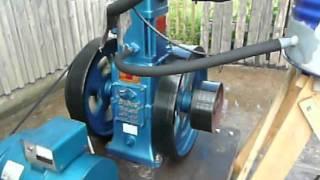 Slow Speed Diesel Engine at 670 1/min Einzylinderdieselmotor 2
