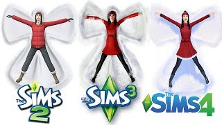 ♦ Sims 2 vs Sims 3 vs Sims 4 : Seasons - Winter