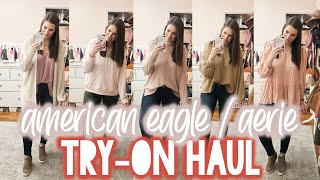 AERIE / AMERICAN EAGLE TRY-ON HAUL 2020 | Sarah Brithinee