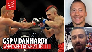 Georges St-Pierre on What Went Down when he faced Dan Hardy at UFC 111