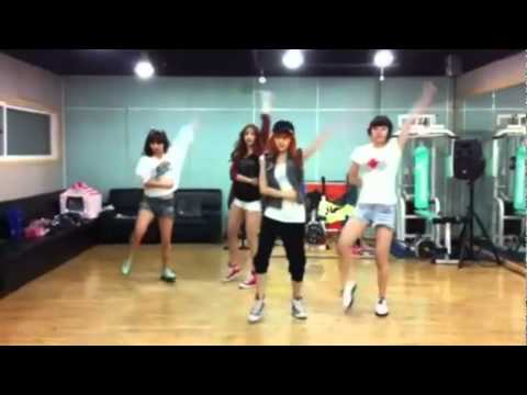 miss A - Good-bye Baby mirrored dance practice