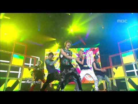 TEEN TOP - Be ma girl, 틴탑 - 나랑 사귈래, Music Core 20120811