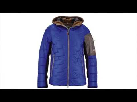Luis Trenker Jack Mens Ski Jacket in Blue