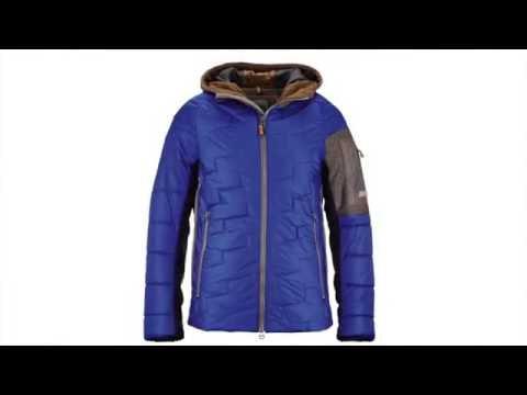 Luis Trenker Jack Mens Ski Jacket in Blue
