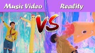 BTS MV vs REALITY