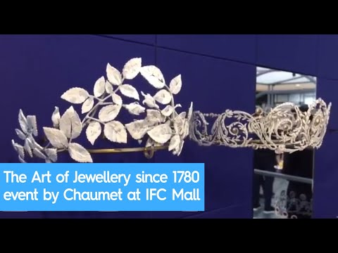 The Art of Jewellery since 1780 event by Chaumet