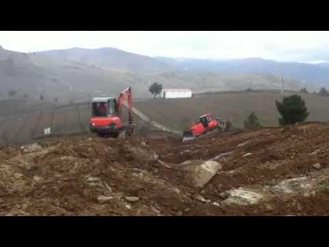 Surriba no Douro: nova plantação na Quinta da Trovisca
